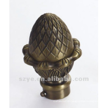SL01 brass window hardware pineapple finials
